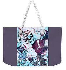 The Digital Age Weekender Tote Bag