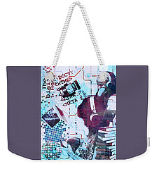 The Digital Age Weekender Tote Bag