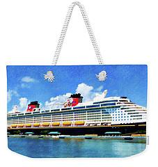 The Disney Dream In Nassau Weekender Tote Bag