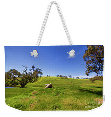 The Distant Hill Weekender Tote Bag by Douglas Barnard