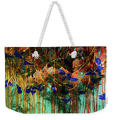 The Disturbance In The Forest Weekender Tote Bag by David Pantuso