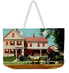 The Doctor Heads Out On A House Call Weekender Tote Bag
