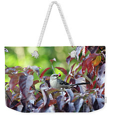 The Dogwood Diner Weekender Tote Bag by Trina Ansel