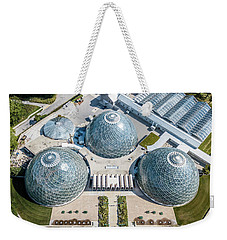 Weekender Tote Bag featuring the photograph The Domes by Randy Scherkenbach