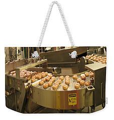 The Doughnut Machine Weekender Tote Bag by Carol F Austin
