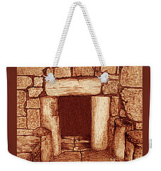 The Door Of Humility At The Church Of The Nativity Bethlehem Weekender Tote Bag by Georgeta Blanaru