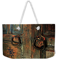 The Door Of Many Colors Weekender Tote Bag