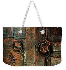 The Door Of Many Colors Weekender Tote Bag