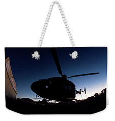 Weekender Tote Bag featuring the photograph The Dot by Paul Job