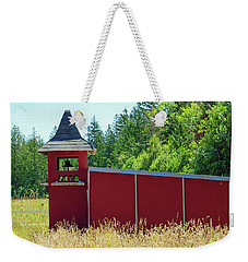 Weekender Tote Bag featuring the photograph The Dove Loft by Tikvah's Hope