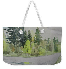 The Downhill Road Weekender Tote Bag