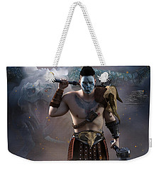 The Dragon Master Weekender Tote Bag