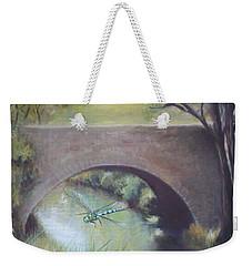 The Dragonfly Weekender Tote Bag