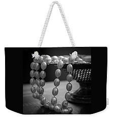 The Drama Of Pearls Weekender Tote Bag by Patrice Zinck