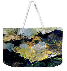 Weekender Tote Bag featuring the painting The Dream Of Gold by Nancy Kane Chapman