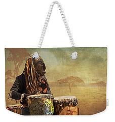The Dream Of His Drums Weekender Tote Bag