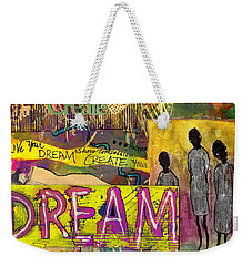 The Dream Trio Weekender Tote Bag by Angela L Walker