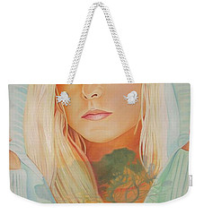 Weekender Tote Bag featuring the painting The Dreaming Tree by Joshua Morton