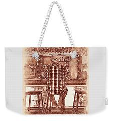 The Drinker Weekender Tote Bag