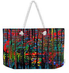 The Drip Weekender Tote Bag