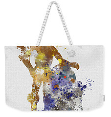 The Droids Weekender Tote Bag by Rebecca Jenkins