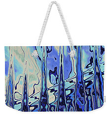 Weekender Tote Bag featuring the digital art The Drowsy Conversation by Wendy J St Christopher
