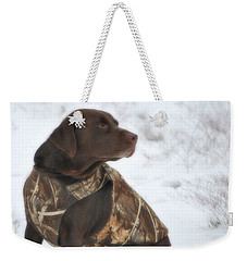 The Duck Dog Iv Weekender Tote Bag
