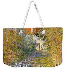 The Duck Pond Weekender Tote Bag