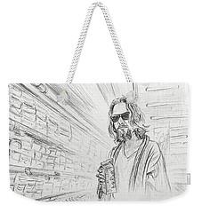 The Dude Abides Weekender Tote Bag