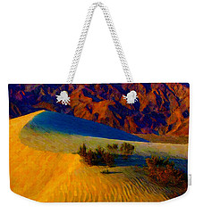 The Dunes At Dusk Weekender Tote Bag