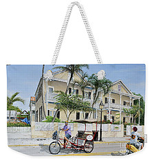 The Duval House, Key West, Florida Weekender Tote Bag by Bob George
