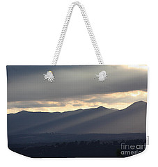 Weekender Tote Bag featuring the photograph The Dying Of The Day by Brian Boyle