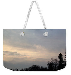 Weekender Tote Bag featuring the photograph The Eagle Has Flown by Kent Lorentzen