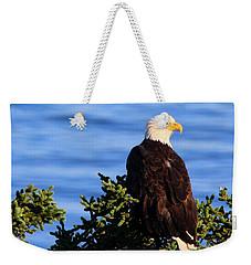 The Eagle Has Landed Weekender Tote Bag