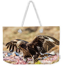 The Eagle Have Come Down Weekender Tote Bag by Torbjorn Swenelius
