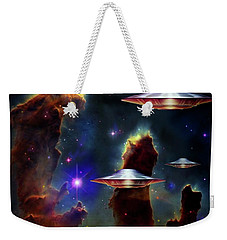 The  Eagle  Nebula  Weekender Tote Bag by Hartmut Jager