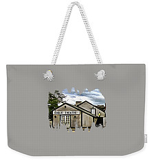 Weekender Tote Bag featuring the photograph The Eagle Theater And Skalet Family Jewelers Old Sacramento by Thom Zehrfeld