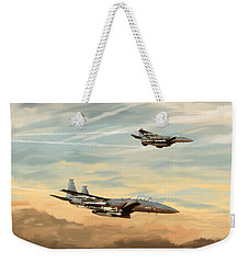 The Eagles Descend Weekender Tote Bag