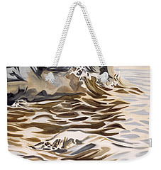 The Eagles Nest At Gower Point Weekender Tote Bag