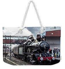 The Earl Of Mout Edcumbe At York Weekender Tote Bag by David  Hollingworth