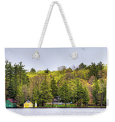 The Early Greens Of Spring Weekender Tote Bag by David Patterson