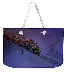 The Early Train Weekender Tote Bag