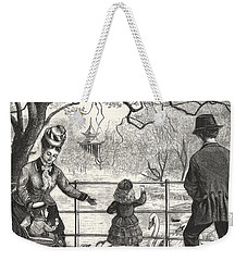 The Easter Holidays Weekender Tote Bag by Unknown