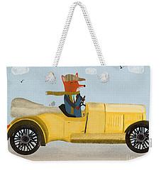 The Eccentric Mr Fox  Weekender Tote Bag