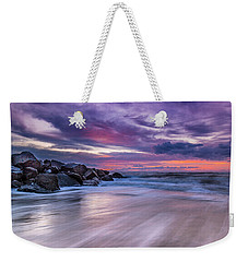 The Edge - Folly Beach, Sc Weekender Tote Bag