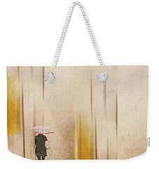 The Edge Of Autumn Weekender Tote Bag