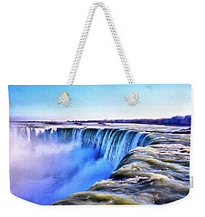 The Edge Of The World Weekender Tote Bag