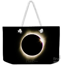 The Edge Of Totality 2 Weekender Tote Bag