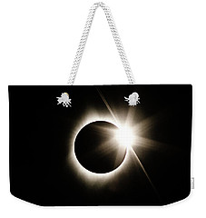 The Edge Of Totality Weekender Tote Bag