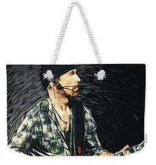 The Edge Weekender Tote Bag by Taylan Apukovska